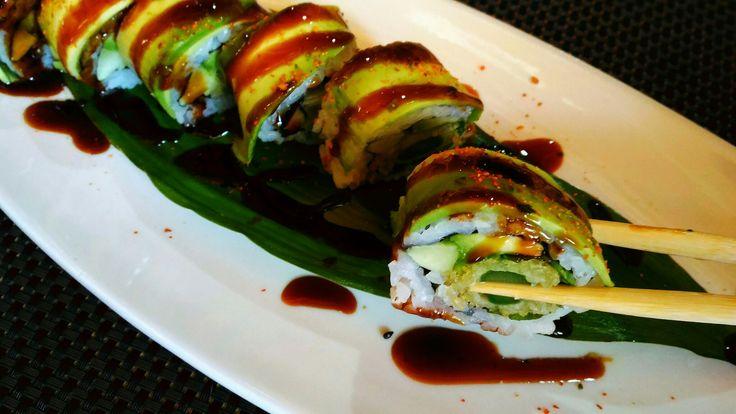 Vegan Uramaki al ristorante cinese, giapponese #BellaCina #GoVegan