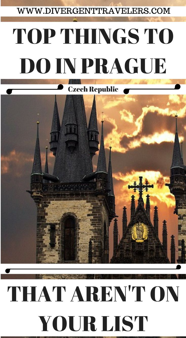 Top Things To Do In Prague, That Aren't On Your List. We have put together one of the but Prague travel guides online that will help you plan your epic trip to Prague. Click to read this jam packed travel guide that has info you will not fined in any other travel guide about Prague. 3 Days in Prague – Things to do in Prague https://www.divergenttravelers.com/things-to-do-in-prague/ #Prague #Travel #Guide