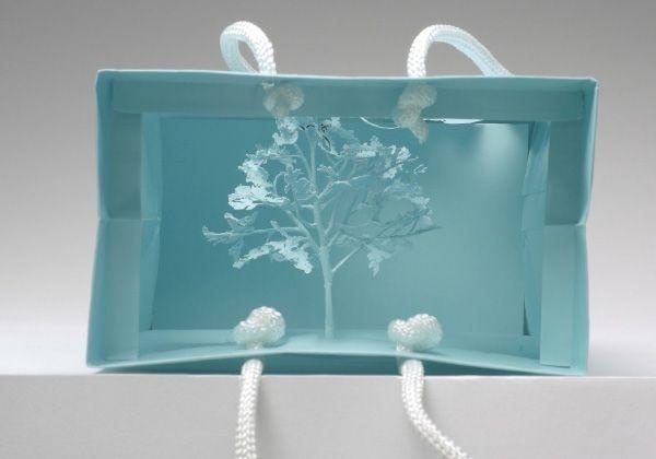 лес, охрана природы«Внимание: лес». Эко-проект дизайнера Yuken Teruya.