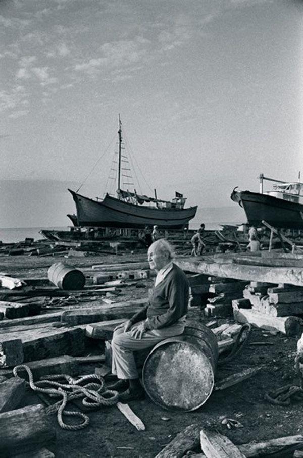 Halikarnas Balıkçısı - Cevat Şakir Kabaağaçlı -  The Fisherman of Halicarnassus - Ara Güler