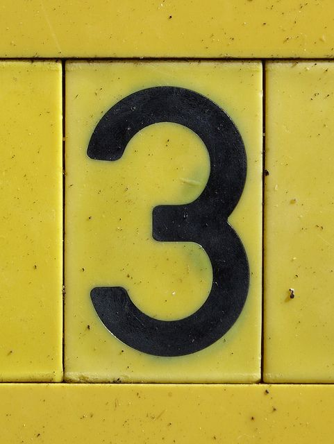 3 is my lucky number!!!