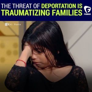 I dont want to leave [my children] alone here unprotected.  Jorge Ramos talks to an und #news #alternativenews