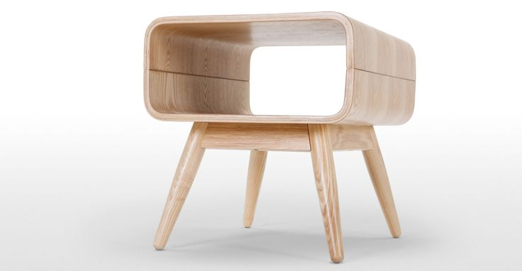 £99 Esme Side Table, Ash | made.com