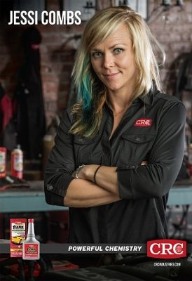 Racing Personality and CRC Ambassador Jessi Combs to Greet Fans at CRC Booth at SEMA