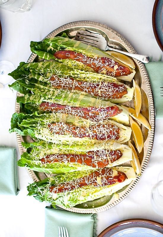 Caesar Wedge Salad  || Simple Bites