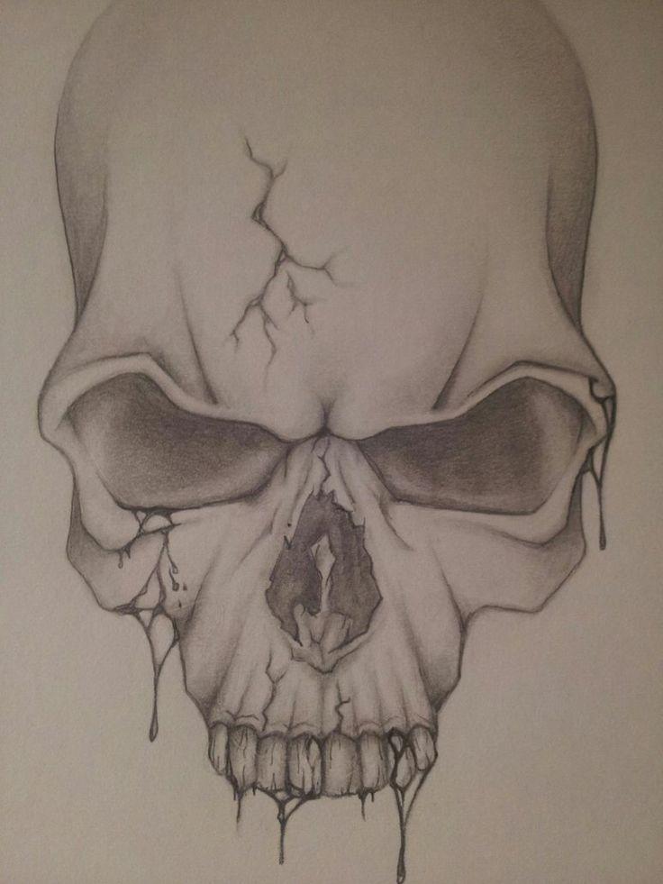 D Skull Tattoo Designs