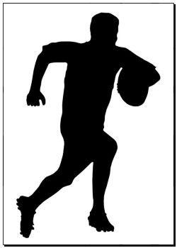 Kvalitní tisk uměleckého díla - sport, silueta, -, ragby, football sanice k6615003 - tisky na plátno, plakáty, tisk na zdi, umělecké plakáty, dekorace na zdi - k6615003.eps
