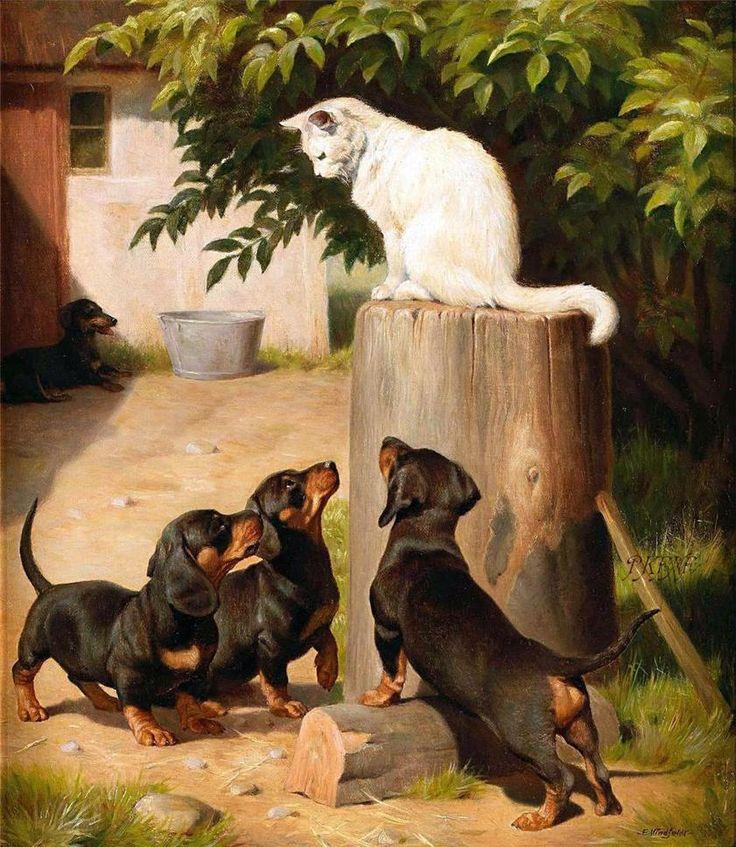 старинные картинки собак начала лучше брать