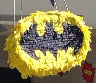 DIY Batman PInata