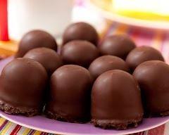 Bouchées de Chamallows® au chocolat (facile, rapide) - Une recette CuisineAZ