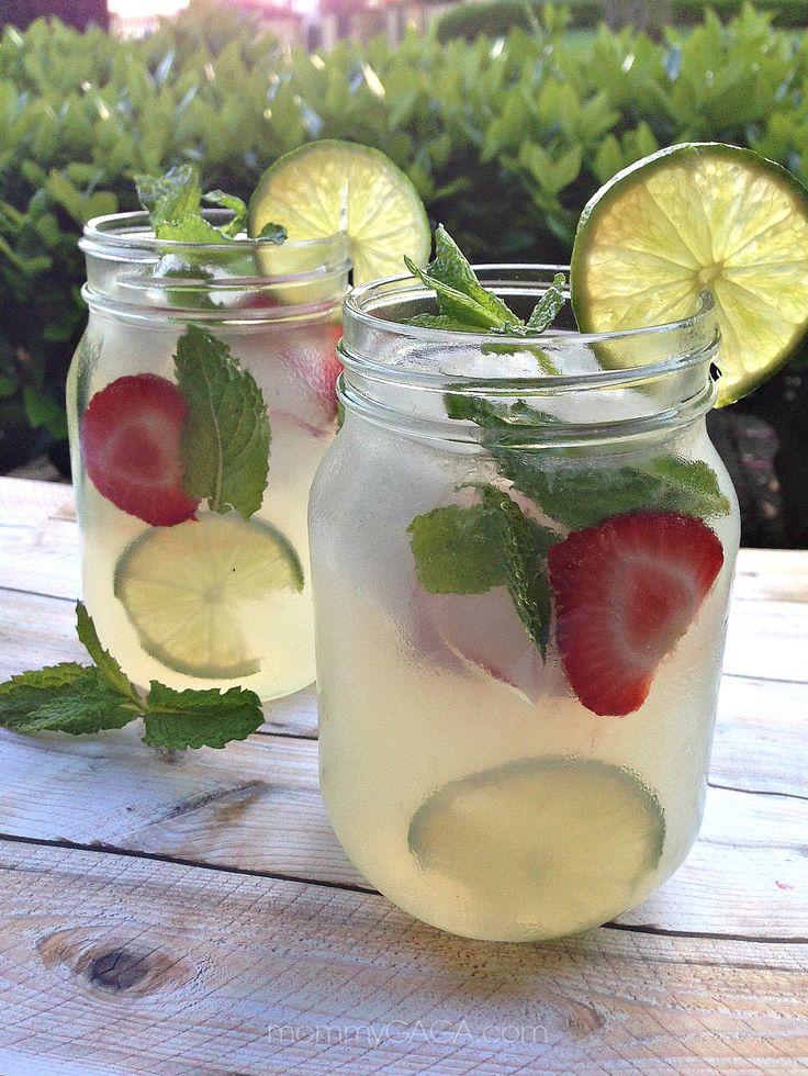 Refreshing Summer Drinks: Stoli® Vodka and Mint Lemonade Cocktail #StoliLemonade