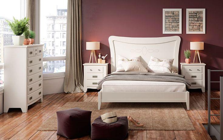 Muebles realizados en madera maciza de pino alistonado, muebles en color blanco en DM lacado ... Desde Eur:1099 / $1461.67