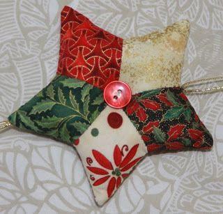 Núria Madurell Patchwork i Art Tèxtil: Tutorial Estrella