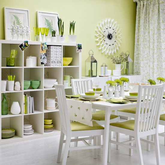 Love the simple chairs and accessories
