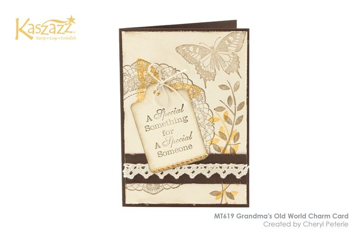 MT619 Grandma's Old World Charm Card