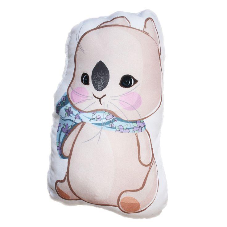 Sálas nyuszi forma párna - Bunny pillow