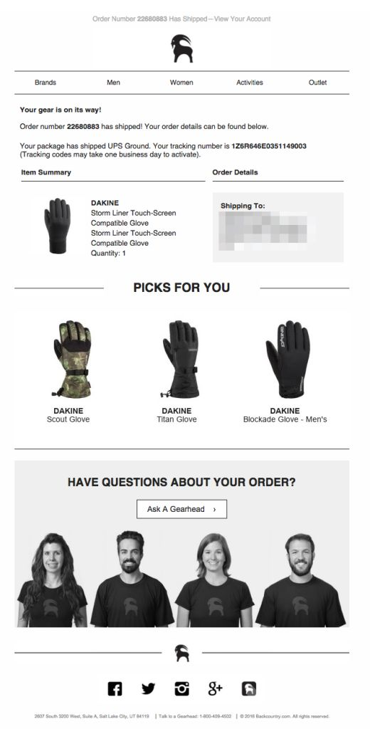 8 Best Shipping Confirmation Emails Images On Pinterest