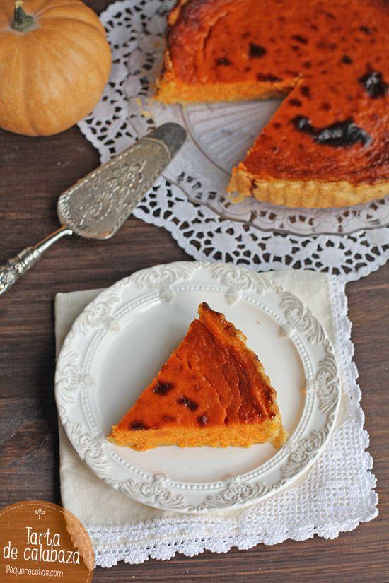 La tarta de calabaza. es un postre sano y rico. Descubre esta receta de tarta y disfruta en familia de una tarta de calabaza.