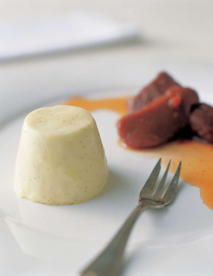 Panna cotta with gorgonzola and honey by Stefano de Pieri from Modern Italian Food | Cooked