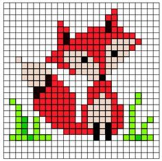 Small fox pattern