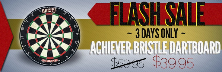 Flash sale only for 3 days Achiever Bristle Dartboard........