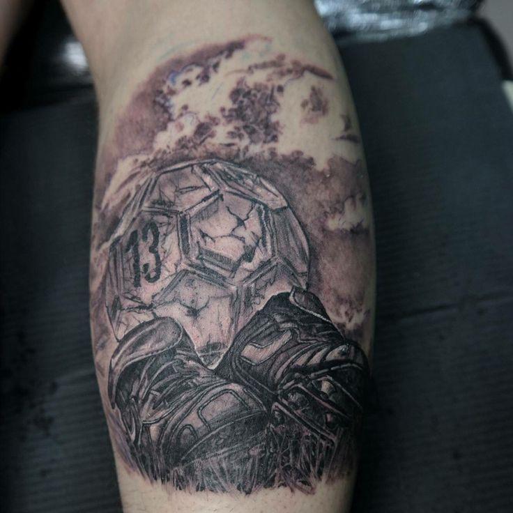 Soccer tattoo sleeves