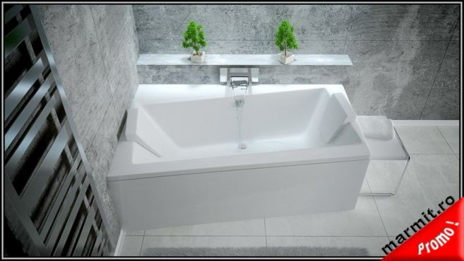 Cada de baie pe colt Tropez 170 x 110 cm, obiecte sanitare, cazi de baie, cazi compozit, cazi otel, cazi acril, cabine de dus, lavoare baie, lavoare compozit, chiuvete baie, mobilier baie, chiuvete bucatarie, vase wc, wc suspendat, bideuri suspendate, baterii baie, robineti baie, baterii bucatarie
