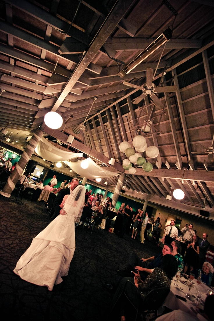 Food court by day, transformed to an amazing venue by night. The Rain Forest Food Pavilion is the perfect indoor location for your #ceremony and #reception at Woodland Park Zoo. www.zoo.org/planyourevent #zoowedding #weddingvenue
