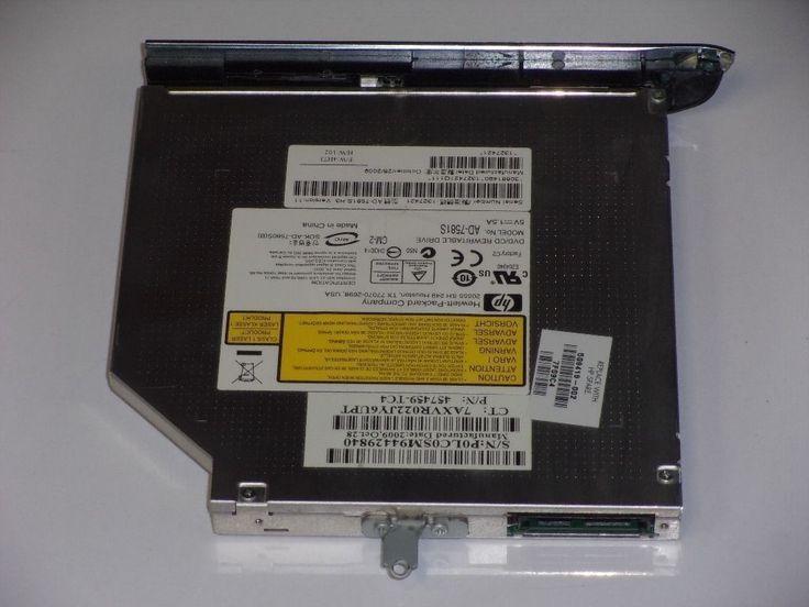 HP Pavilion DV6-2000 SATA CD-RW DVD±RW Multi Burner Drive AD-7581S 509419-002
