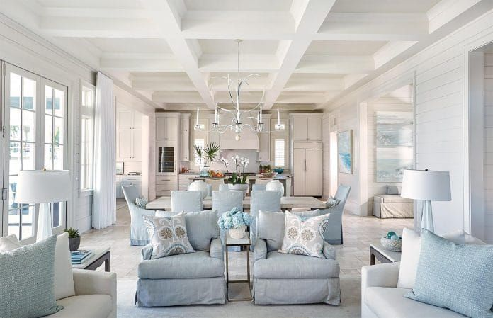 How To Arrange Furniture With An Open Concept Floor Plan Open Concept Kitchen Living Room Layout Open Concept Kitchen Living Room Livingroom Layout
