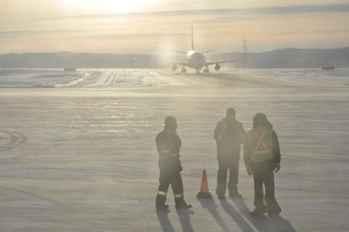 Mike Zubko airport in Inuvik