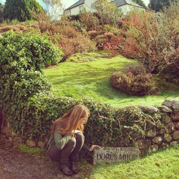 """The original Dorus Mhor - Liz's childhood home in Scotland. It translates as """"The Great Open Door"""""""