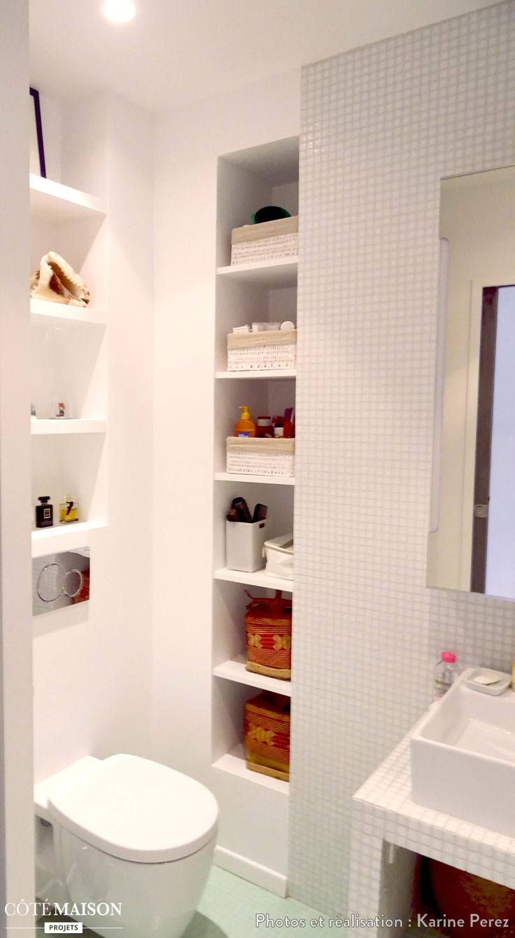 Best 25 mini salle de bain ideas on pinterest petite for Mini lavabo salle de bain