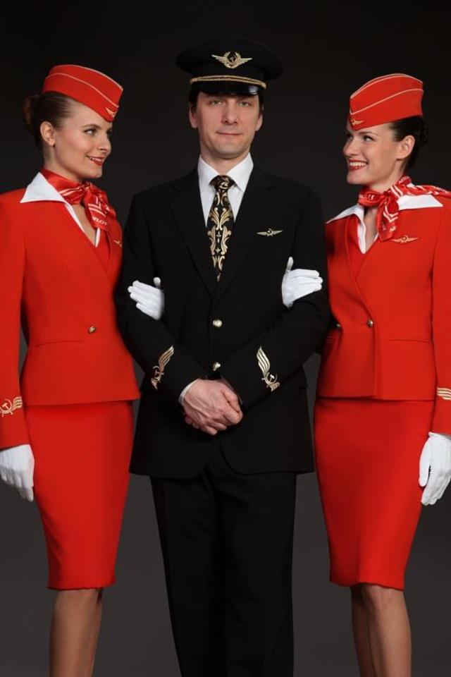 Aeroflot Cabin crew Amoo Pinterest Russian red