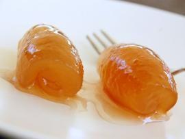 Seville orange, greek spoon (better fork :) sweet
