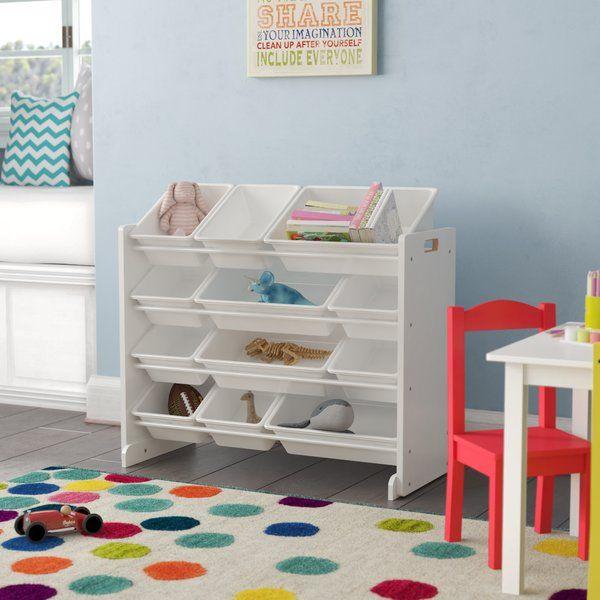 Everton Kids Storage Toy Organizer In 2020 Baby Room Storage Kid Toy Storage Playroom Storage