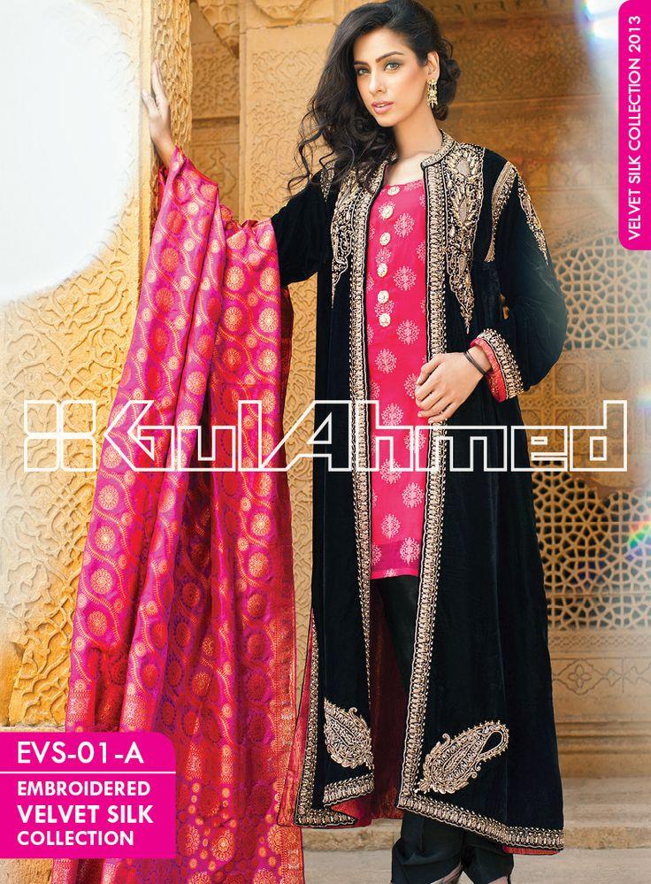 Coat style dress in pakistan