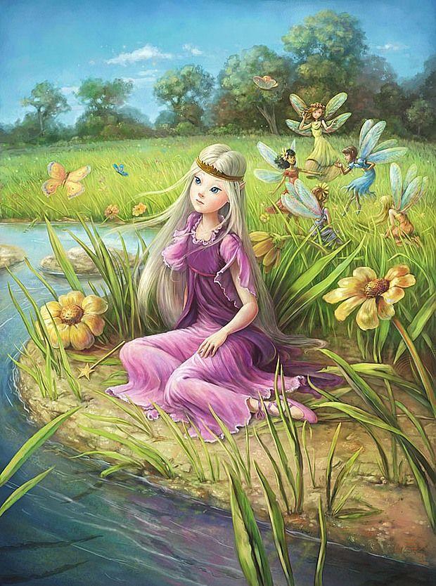 Beautiful Illustrations by Fiona Sansom