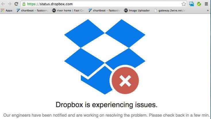 Dropbox Offline, Hacker Group Claims Credit [Update: Dropbox Denies Hack] | TechCrunch