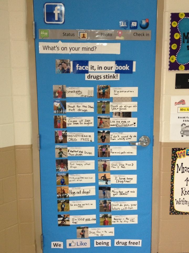 17 best images about drug ed week on pinterest red for Decorate pictures for facebook