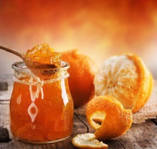 oh yum!  orange marmalade...