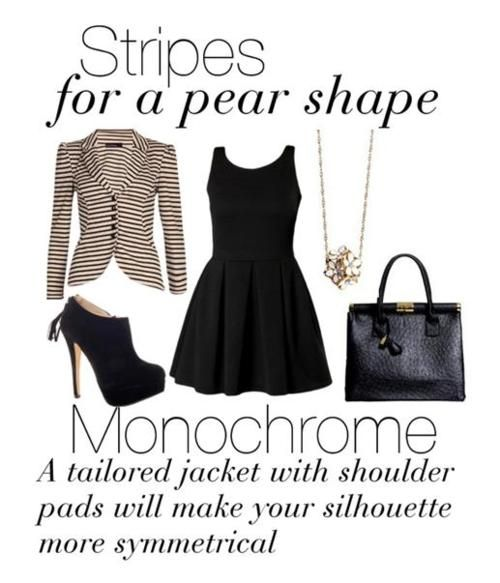 Dress For Your Shape: Monochrome Styling |