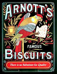 Arnott's Biscuits - an iconic picture - always a firm favourite........