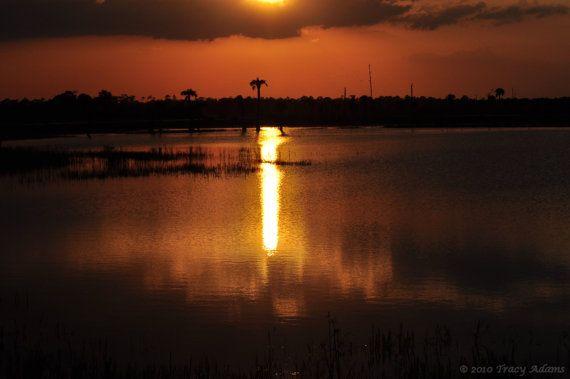 Deep Orange Sunset by photosbytyler on Etsy