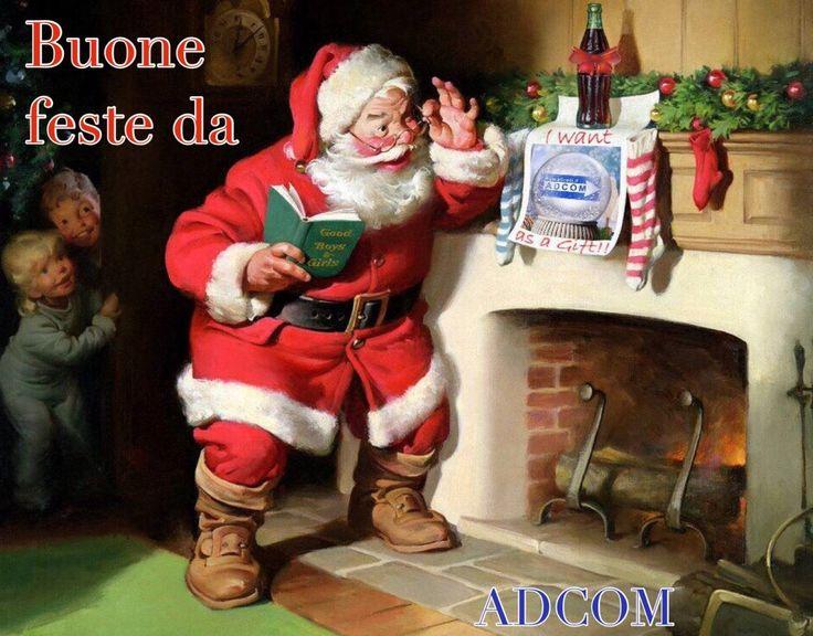 Buone Feste a tutti! I nostri uffici saranno chiusi nel pomeriggio della vigilia di Natale e da giovedi 31 Dicembre fino a Domenica 10 Gennaio. Grazie alla Vs. fiducia abbiamo avuto l'opportunità di crescere! Ci auguriamo di essere stati all'altezza delle Vs. aspettative! Un sincero ringraziamento dallo Staff Adcom al completo!
