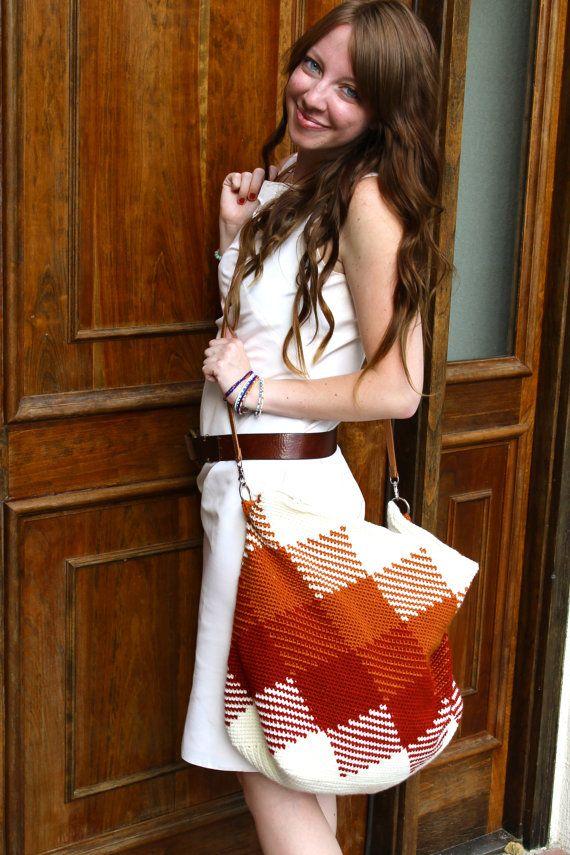 CROCHET PATTERN for The Weekender Bag by SansLimitesCrochet