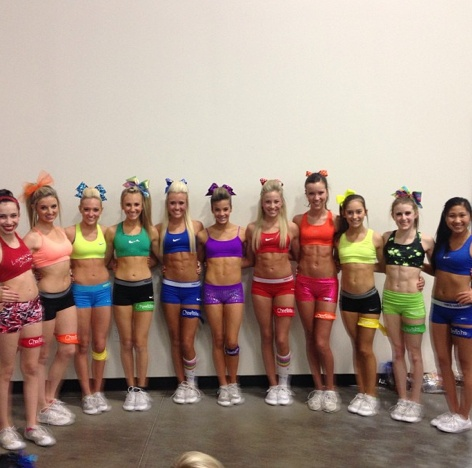 NCA week I just think this photo is awesome, gotta congratulate amazing athletes for shining!