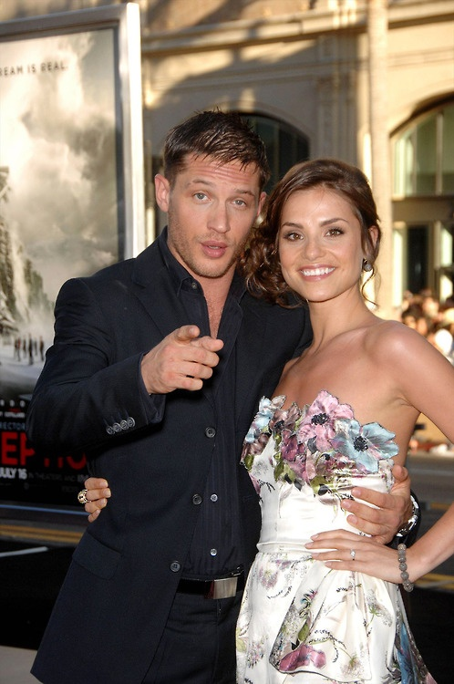 Tom Hardy and Charlotte Riley .. Prettiest couple ever! Even if she is borrowing my boyfriend... :)