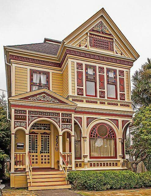 476 best images about stick style victorian on pinterest for Victorian stick style house plans
