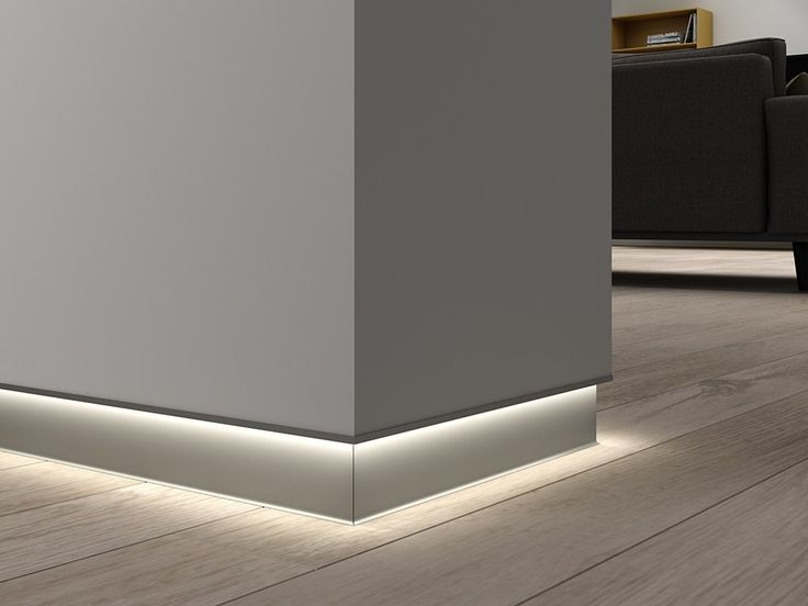 Download the catalogue and request prices of Novorodapie® eclipse By emac italia, led aluminium skirting board, novorodapie® Collection